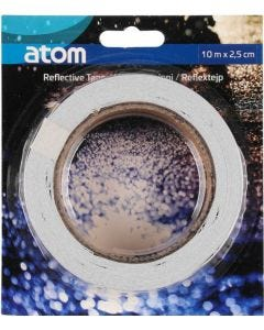 Atom Heijastava teippi 10 m x 2,5 cm