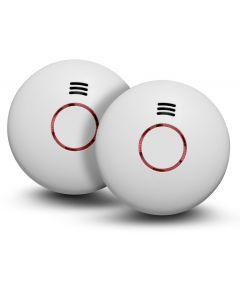 Brandvarnare med temperaturvarnare 2-Pack Housegard Origo™
