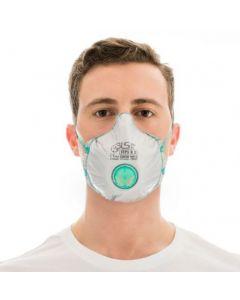 Hengityssuojain BLS 030 C Zer0 FFP3D. venttiilimalli aktiivihiilellä. 10kpl